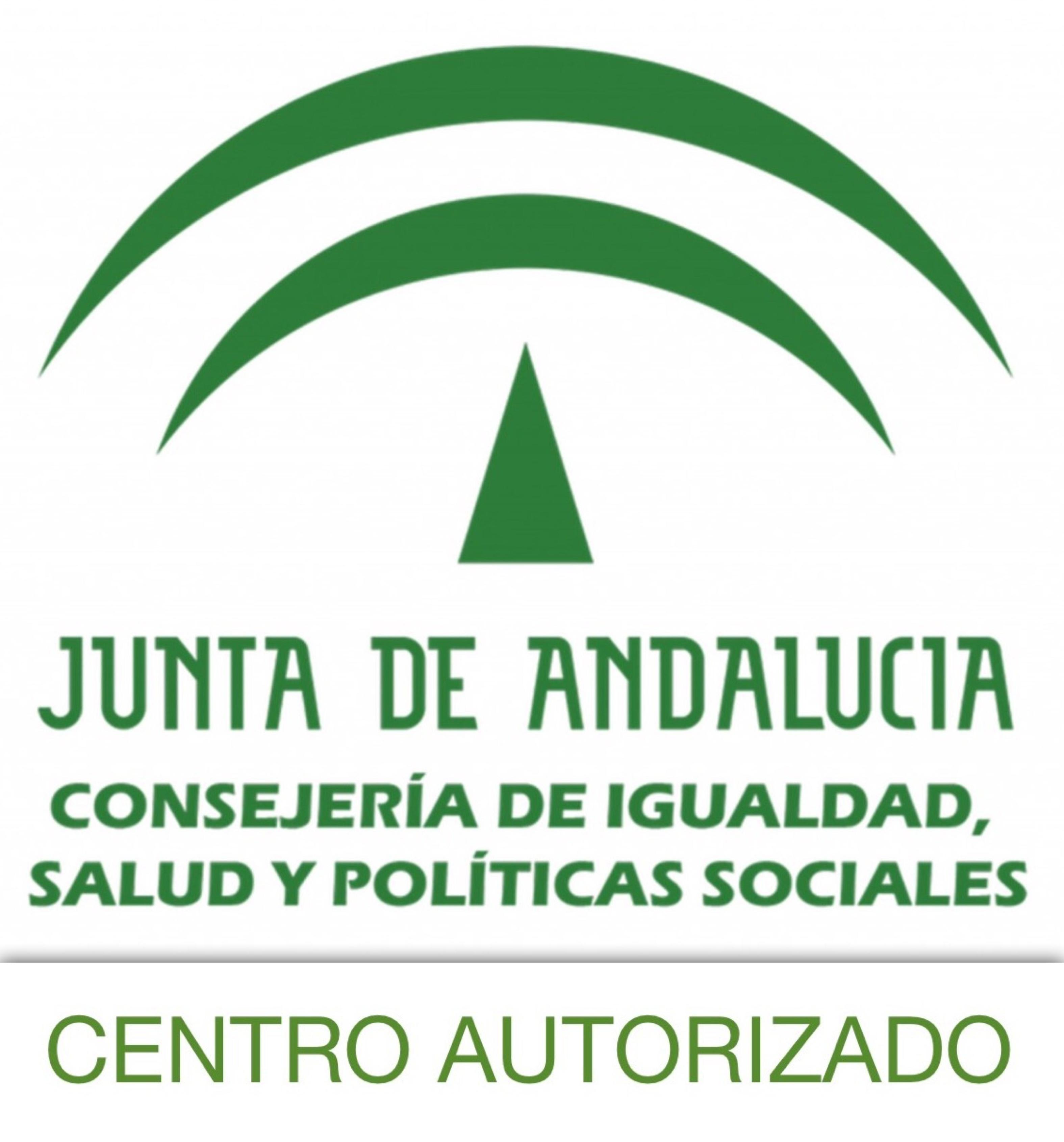 Centro Autorizado por la Consejería de Igualdad, Salud y Politicas Sociales de la Junta de Andalucía